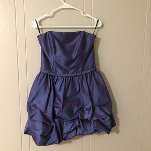 Gunne Sax Dresses - Purple iridescent homecoming / cocktail dress!